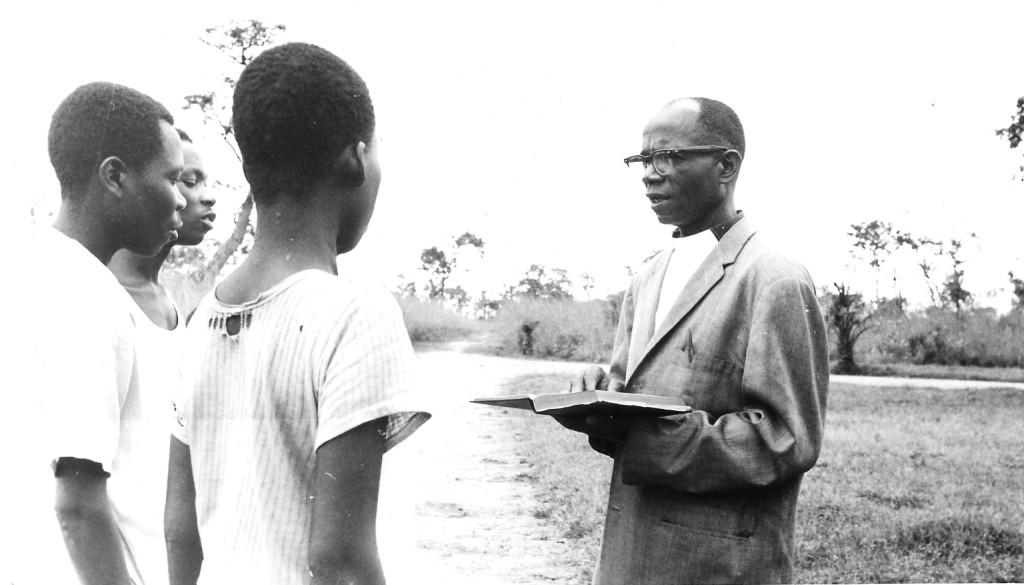 Centennial book photo Wayindama Emmanuel